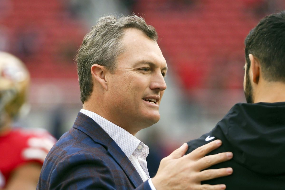 126ef2952e6 John Lynch speaks on almost acquiring either Antonio Brown and Odell  Beckham Jr.