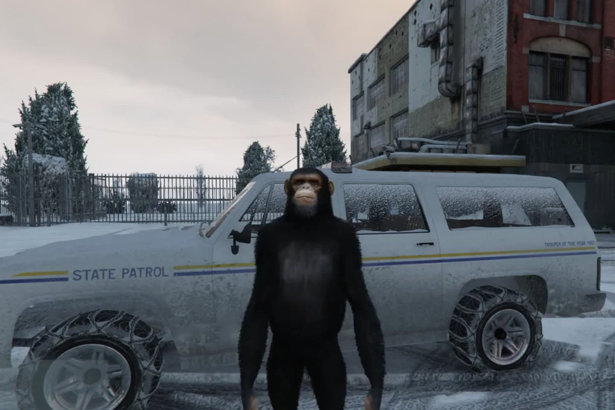 GTA 5 mod lets you explore a hidden, snowy ghost town - Polygon