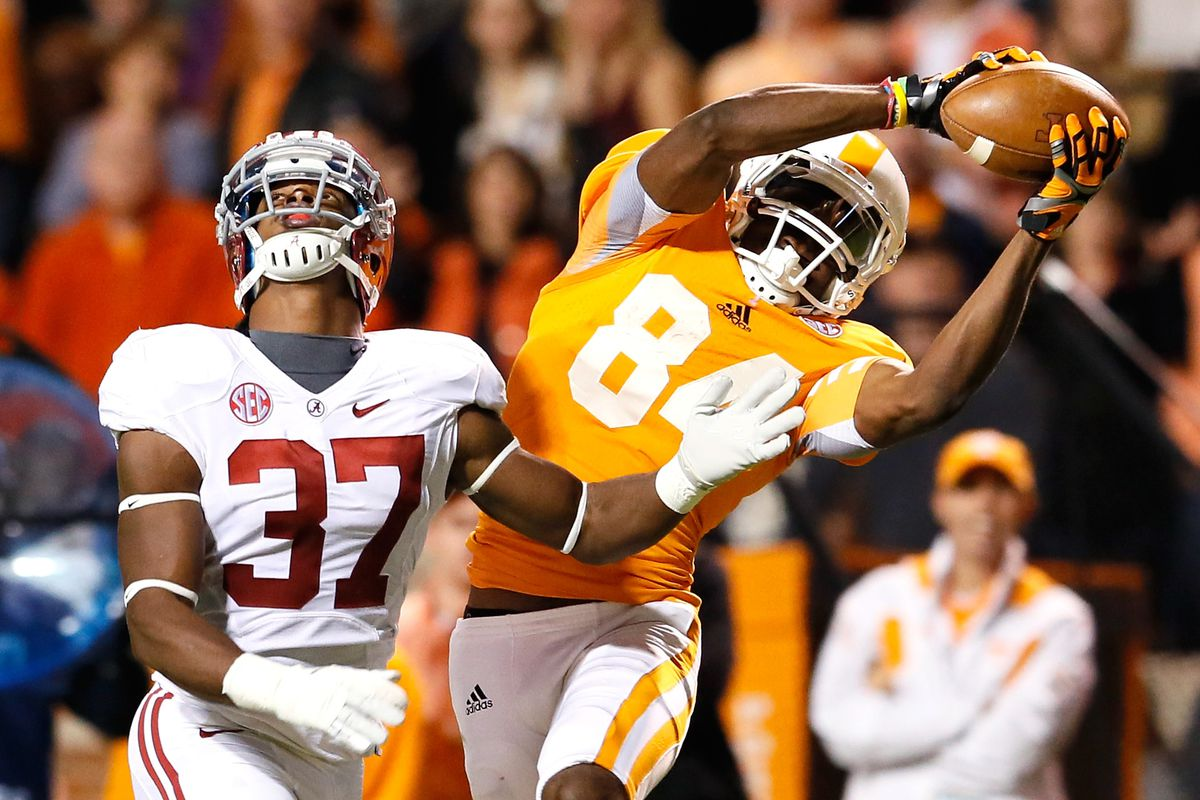 Tennessee's Cordarrelle Patterson was death from above for defenses in 2012, but where does he fit in Mel Kiper's updated 2013 mock draft?