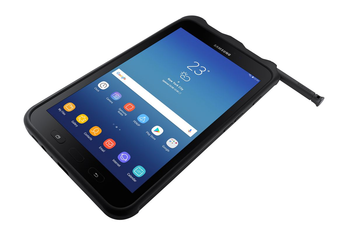 Samsung Is Bringing Its Latest Rugged Tablet To The Us With An Eye Toward Ing It Companies That Send Workers Outdoors Locations