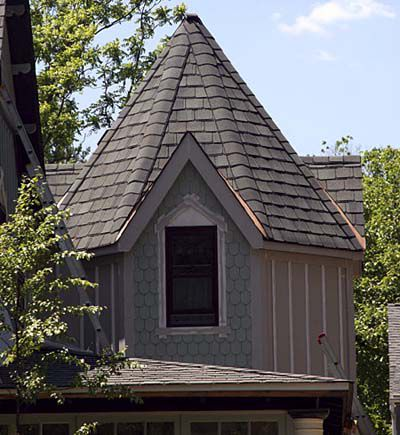 Octagon-style Roof