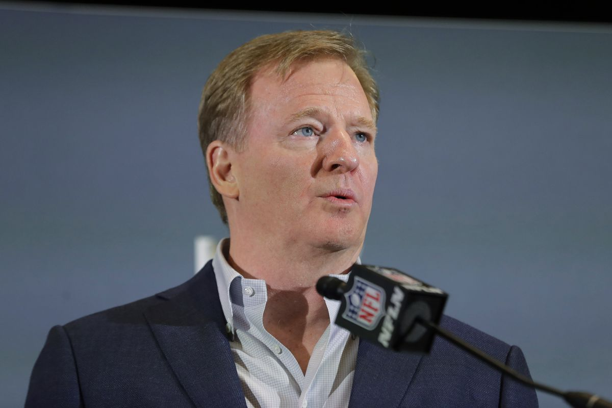 NFL commissioner Roger Goodell told teams that potential penalties for violating the league's coronavirus protocols include forfeiting games.