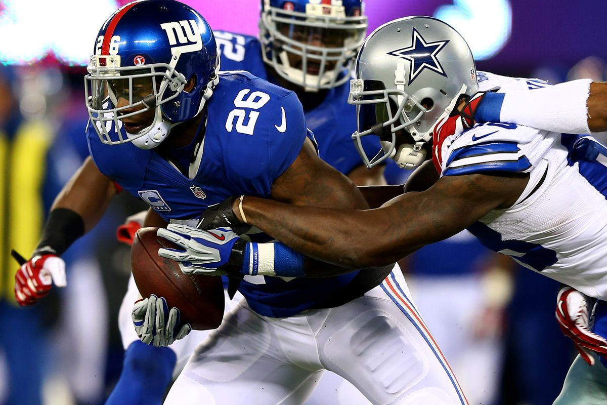 Antrel Rolle made this interception Sunday, but Dez Bryant and the Cowboys got the last laugh