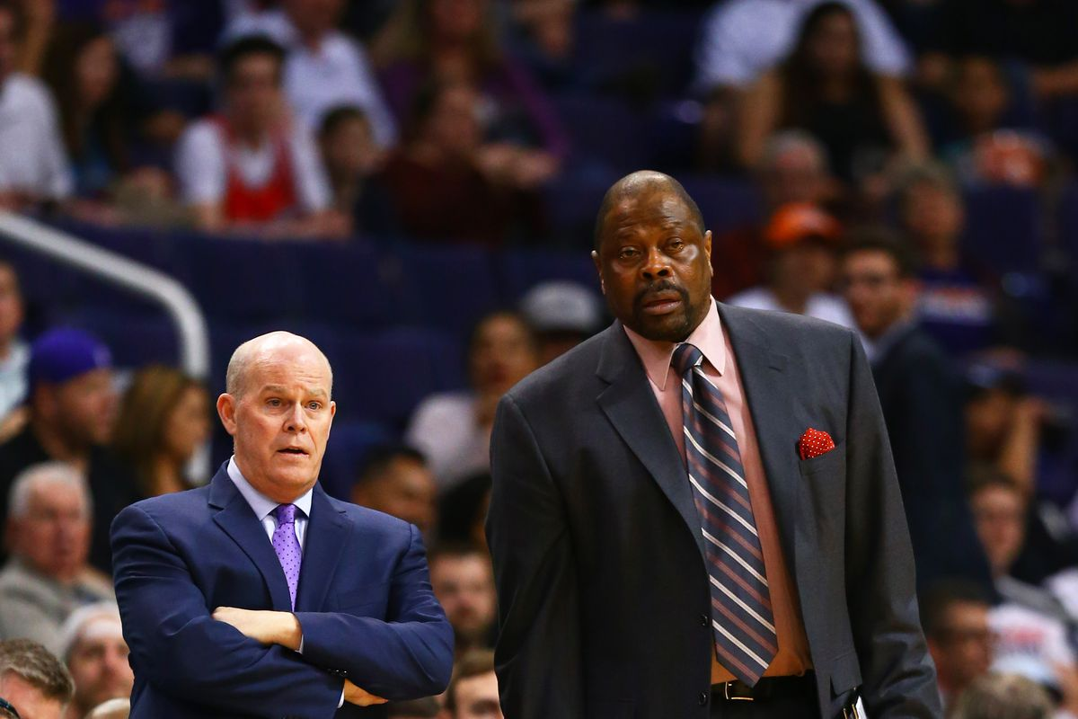 Patrick Ewing leaving Hornets immediately to be e Geor own