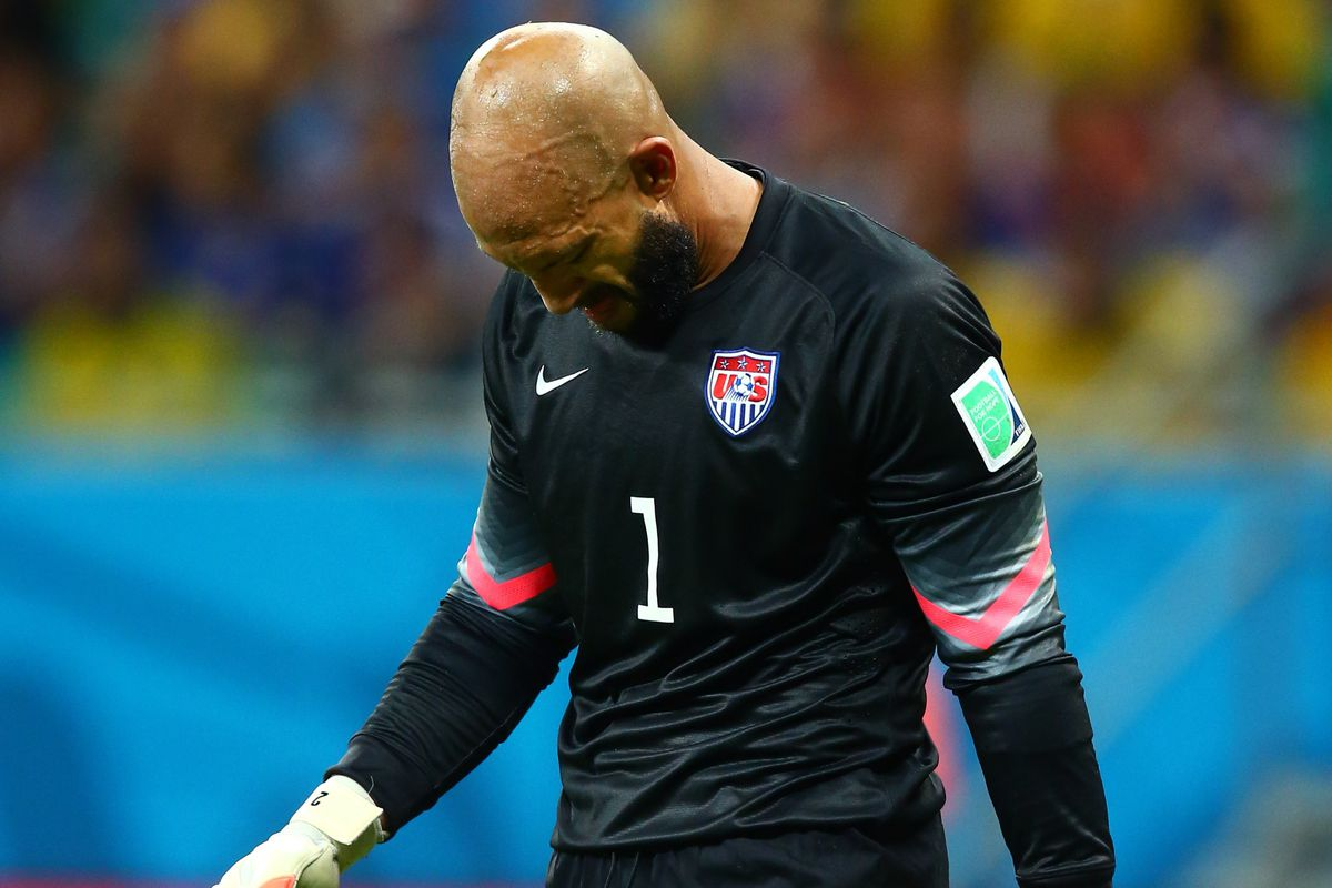 Tim Howard had a brilliant match against Belgium, even in defeat.