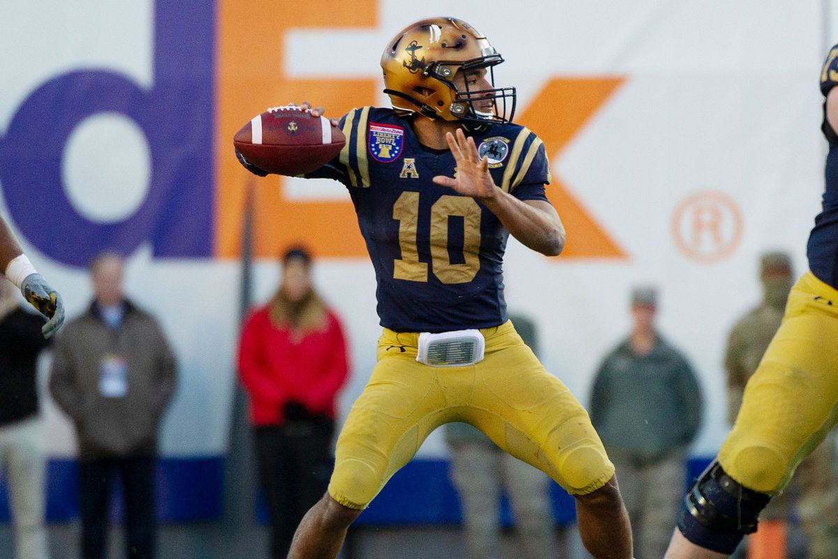 NCAA Football: Liberty Bowl-Navy vs Kansas State