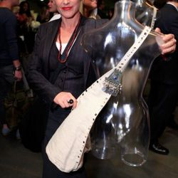 Patricia Arquette and her creation.