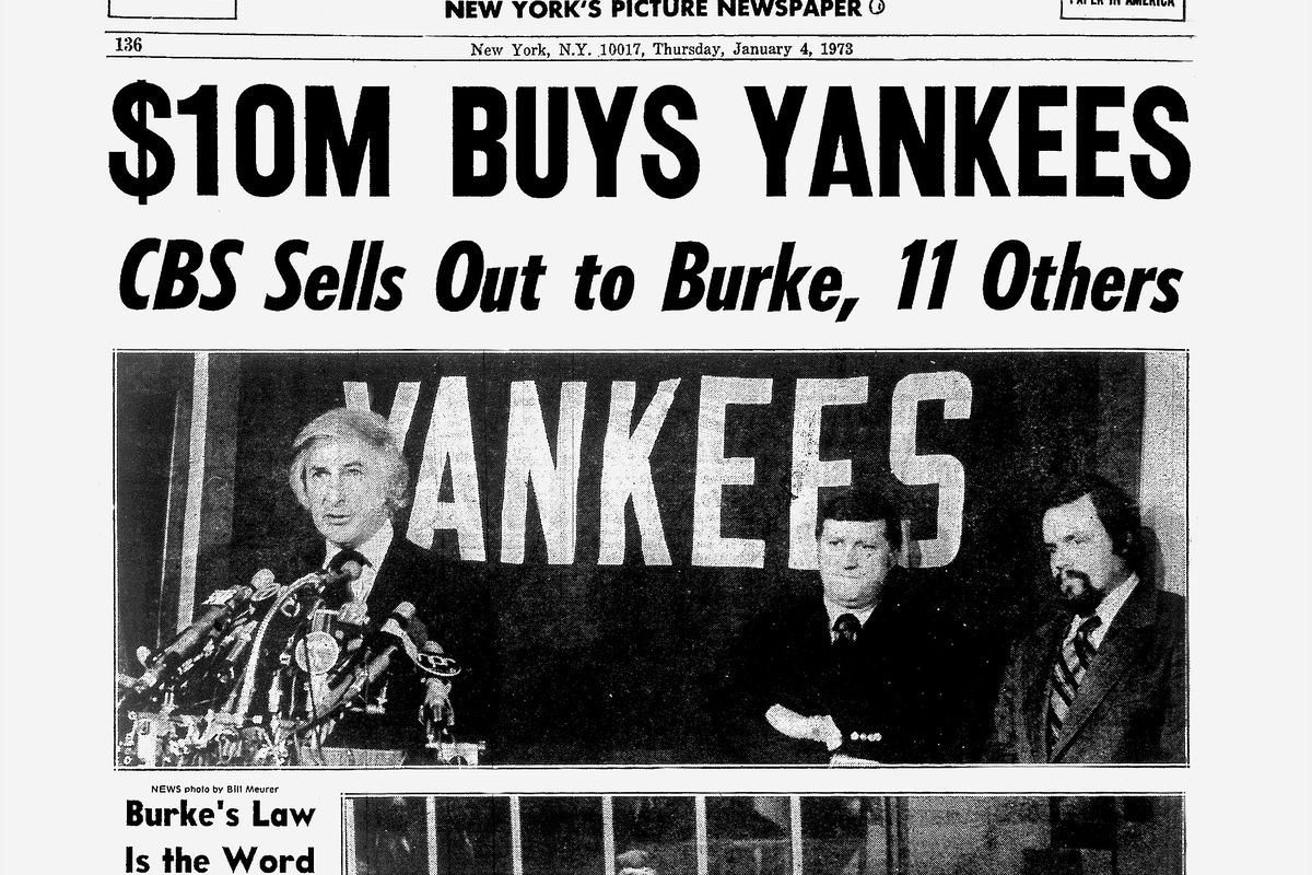 Daily News back page dated Jan. 4, 1973, Headlines: $10M BUY