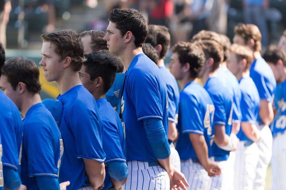 The UCLA Baseball team