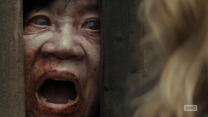 The neighbor is a zombie on Fear the Walking Dead.