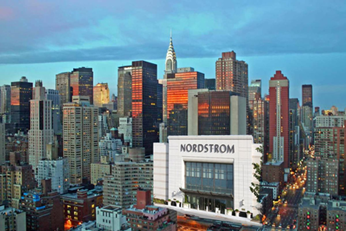 Nordstrom is the largest upscale retailer in the United States, but it has never had a full-service department store in New York, the world's largest and toughest fashion market. That is about.