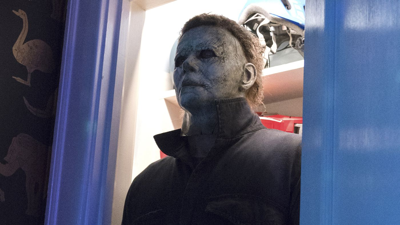 Halloween 2018 Michael Myers Face.Halloween Ending Director David Gordon Green On Michael Myers Fate