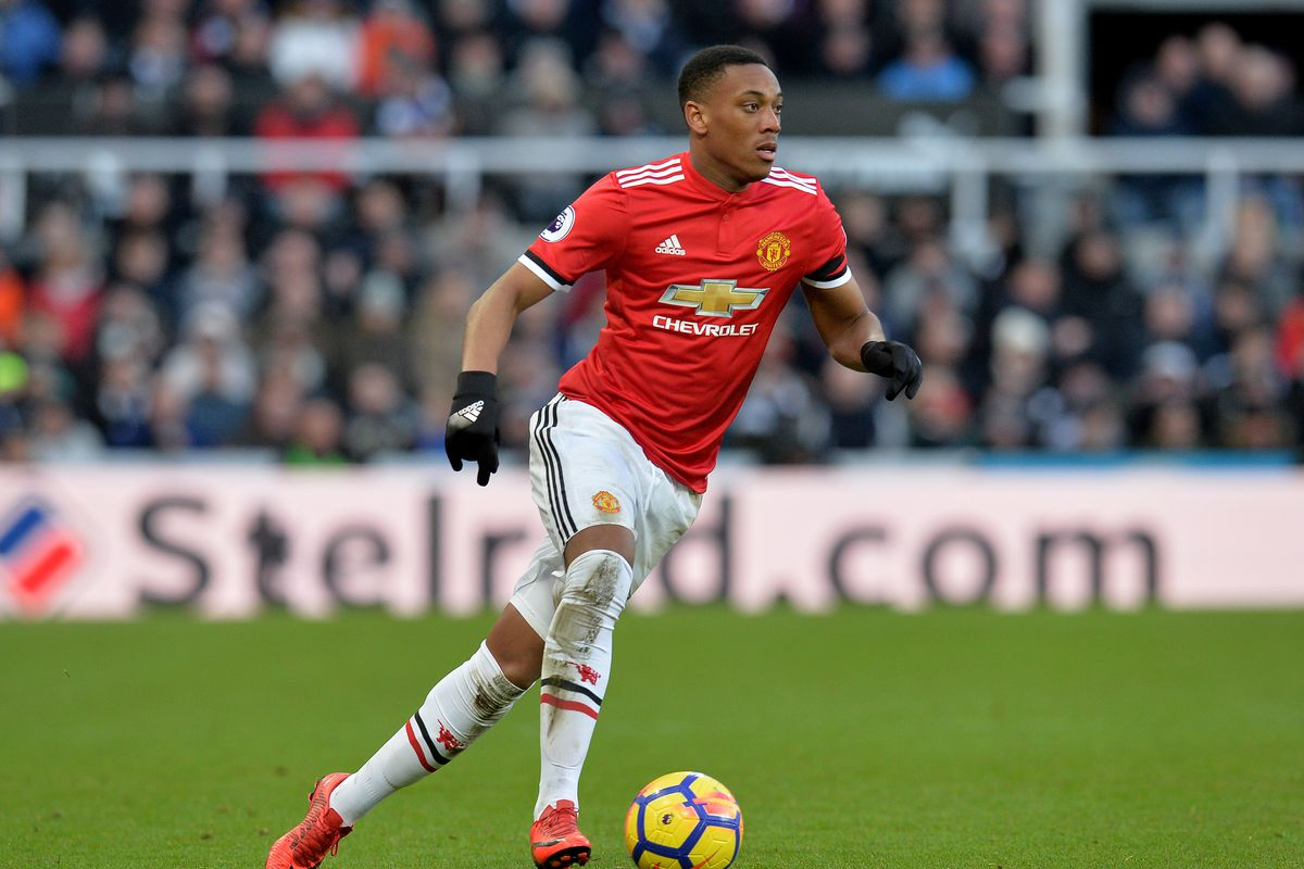 Anthony Martial Reportedly Eyed Amid Contract Rumours