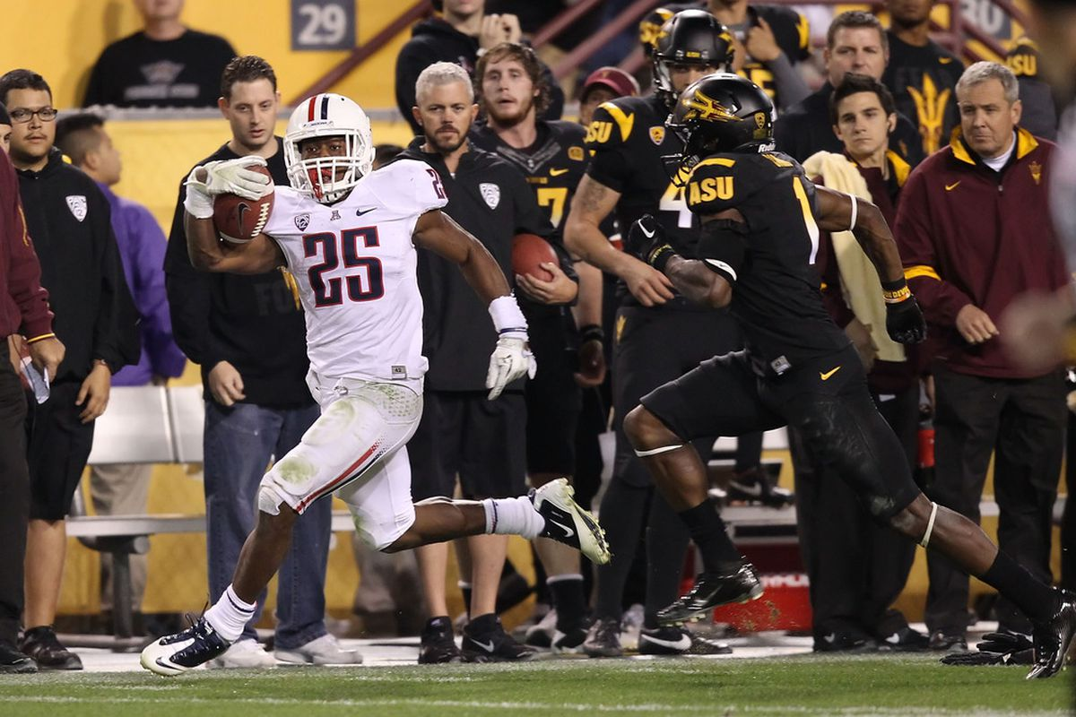 Ka'Deem Carey finds himself on another award's watch list, this time it's the Walter Camp Award