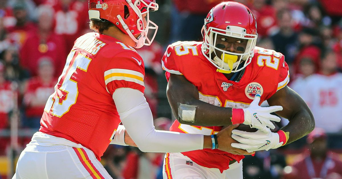 Chiefs-Texans: LeSean McCoy is preferred option on the ground for Kansas City