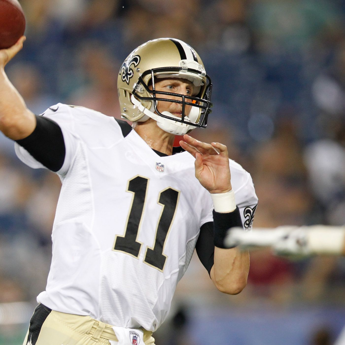 NFL Free Agency 2013: Luke McCown Begins Second Stint With Saints ...