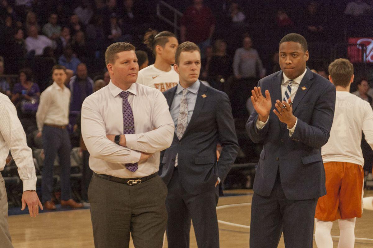 TCU Basketball vs Texas   NIT Tournament   Madison Square Garden, NYC