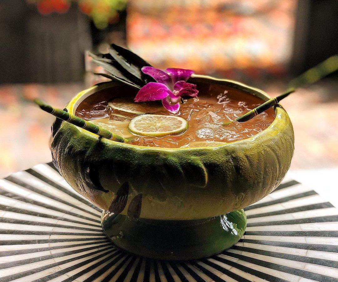 Scorpion bowl at Banyan