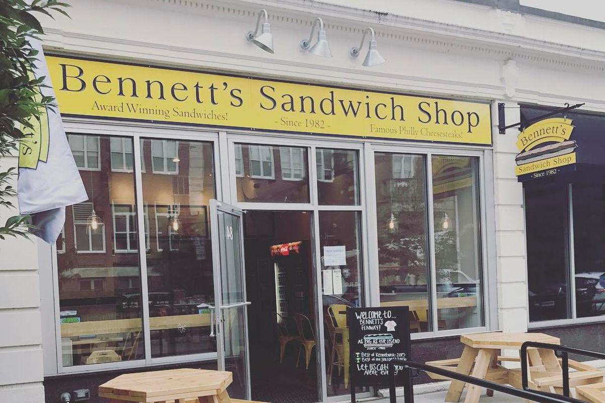 Bennett's Sandwich Shop in Fenway