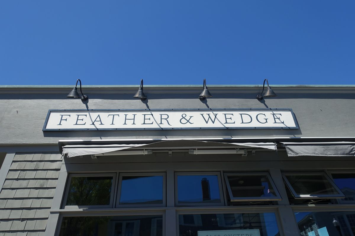 feather and wedge rockport