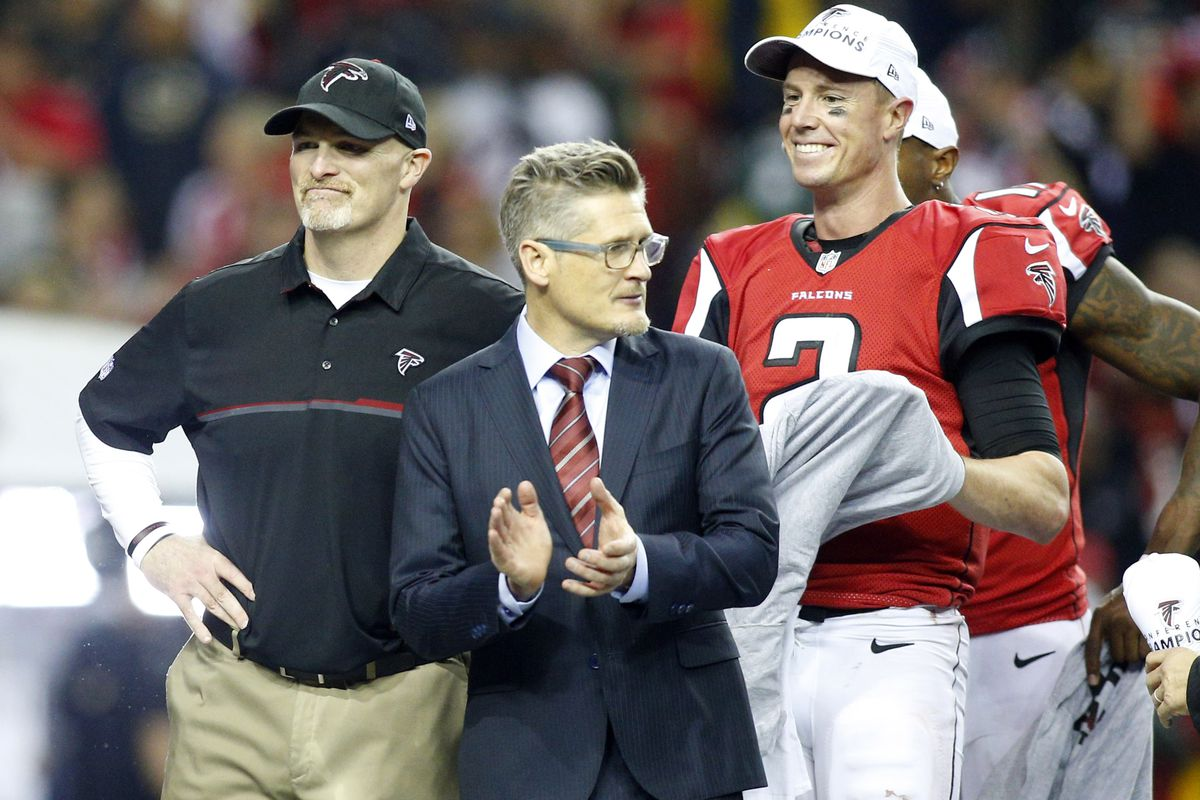 02b1f94ad51 How Dan Quinn and a restructured front office transformed the Falcons into  championship-caliber team in two years