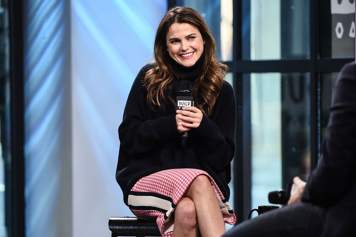 Actress Keri Russell attends the Build Series to discuss the show 'The Americans' at Build Studio on March 8, 2017 in New York City.