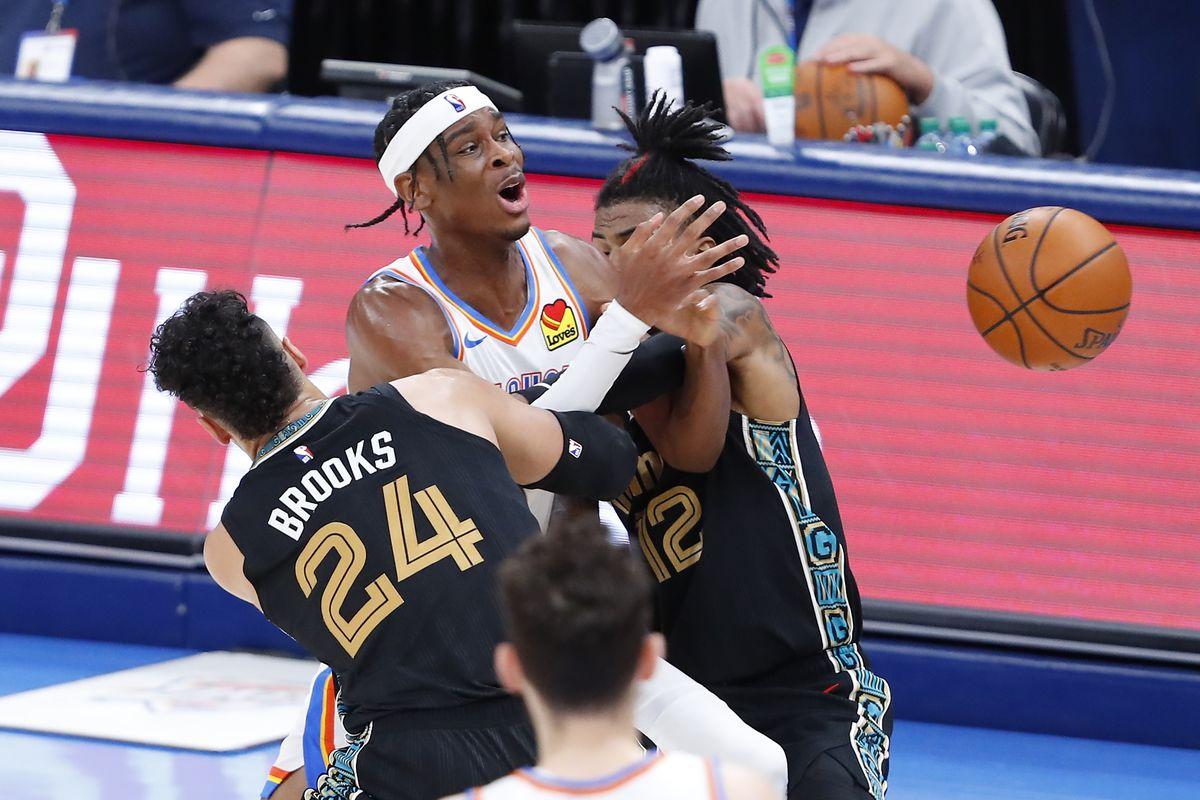 NBA: Memphis Grizzlies at Oklahoma City Thunder