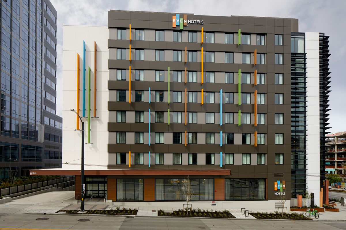 Hotels In Seattle >> Staybridge Suites And Even Hotel Open In South Lake Union Curbed