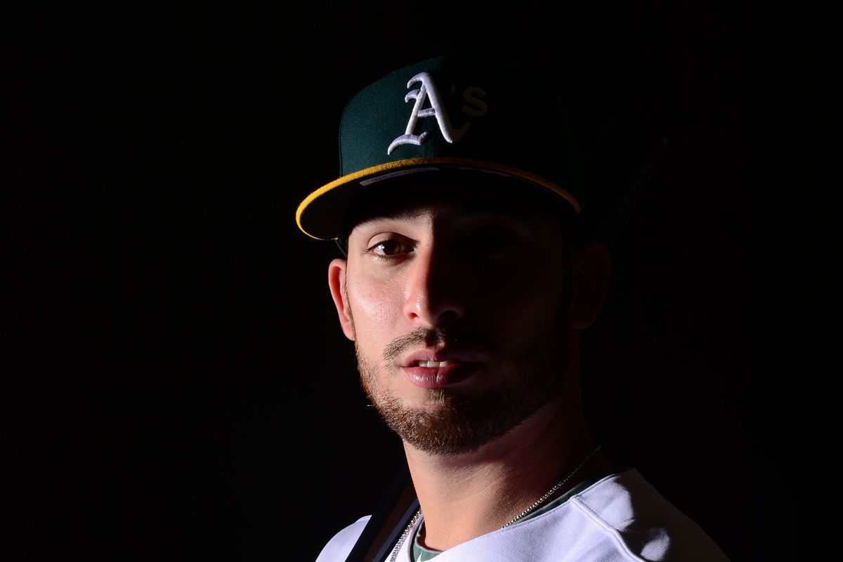 Ravelo missed half the season, so here is half of his face.
