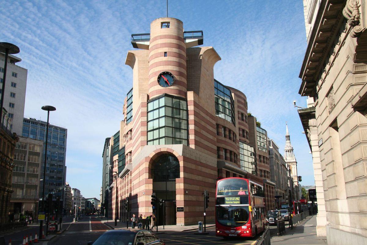 postmodern building in England