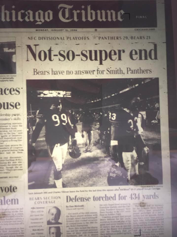 Panthers 29 Bears 21 January 15,  2006