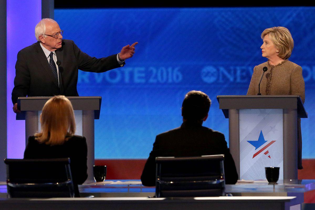 Debating.