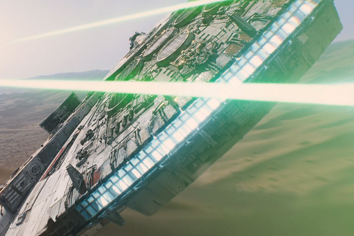 Star Wars: Episode VII — The Force Awakens is our completely out there prediction for next year's Oscars.
