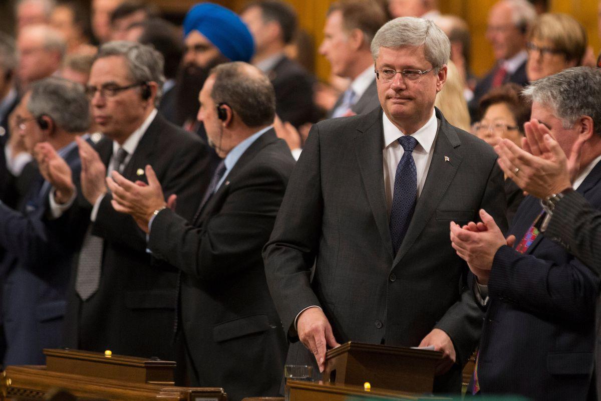 Canada's Prime Minister Stephen Harper.