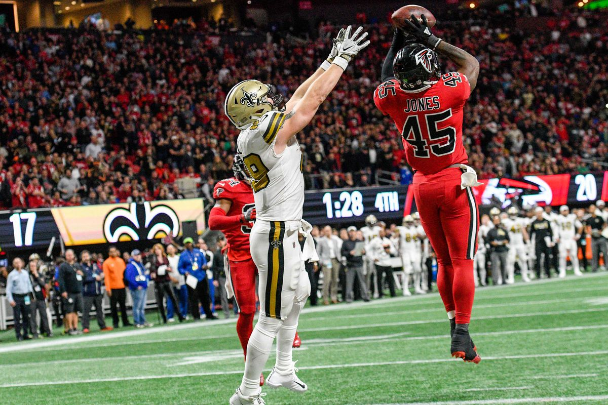 free shipping 246da 1a8c3 What We Learned: Falcons vs. Saints - The Falcoholic