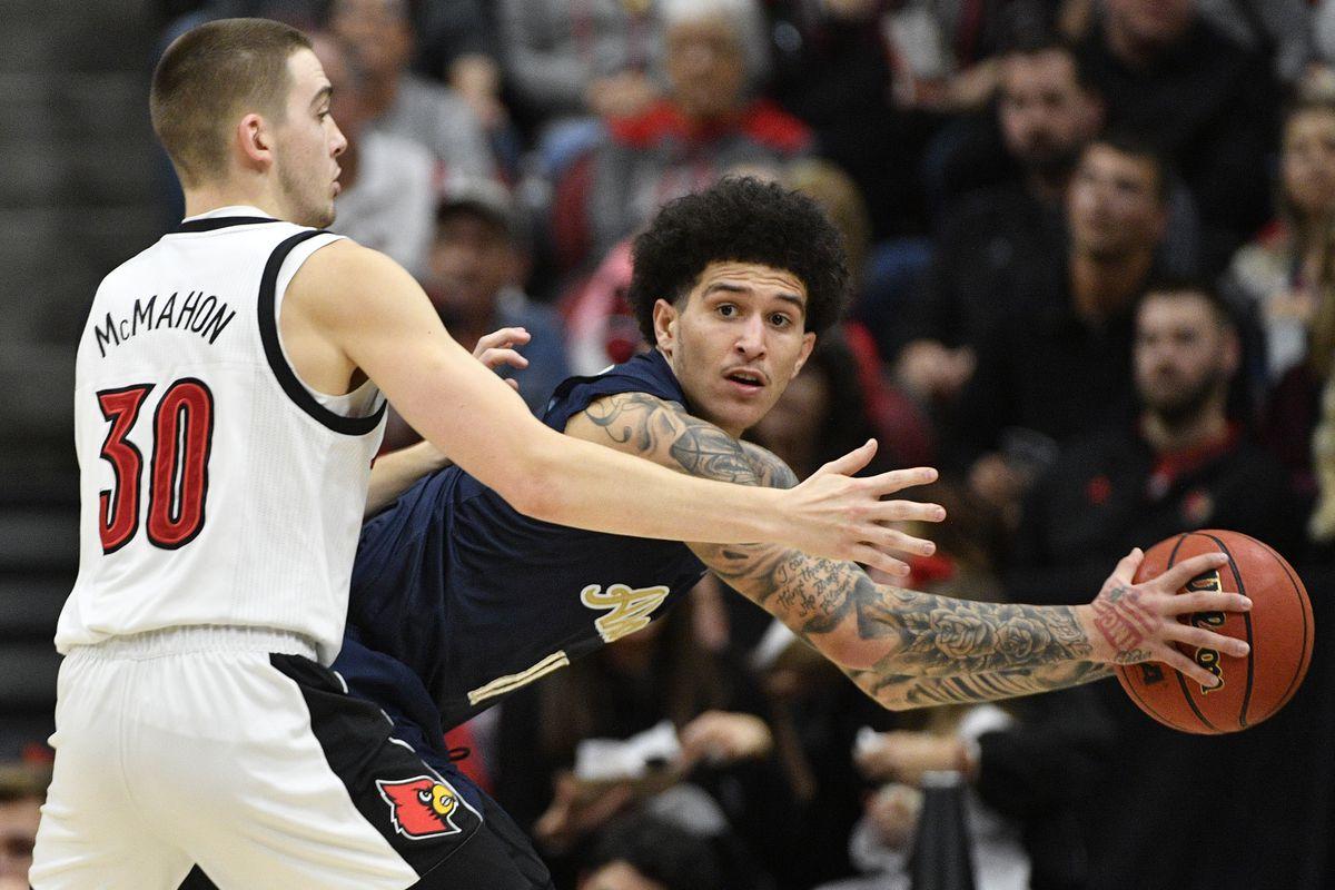 NCAA Basketball: Akron at Louisville