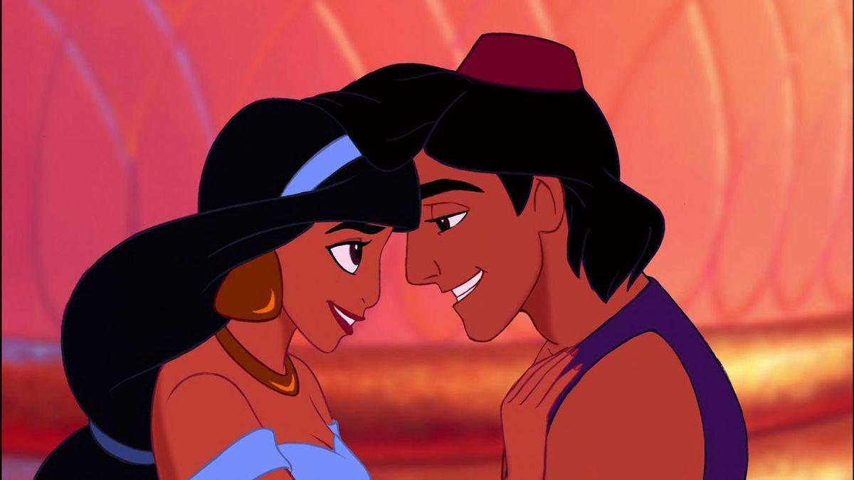 Disney's Jasmine and Aladdin