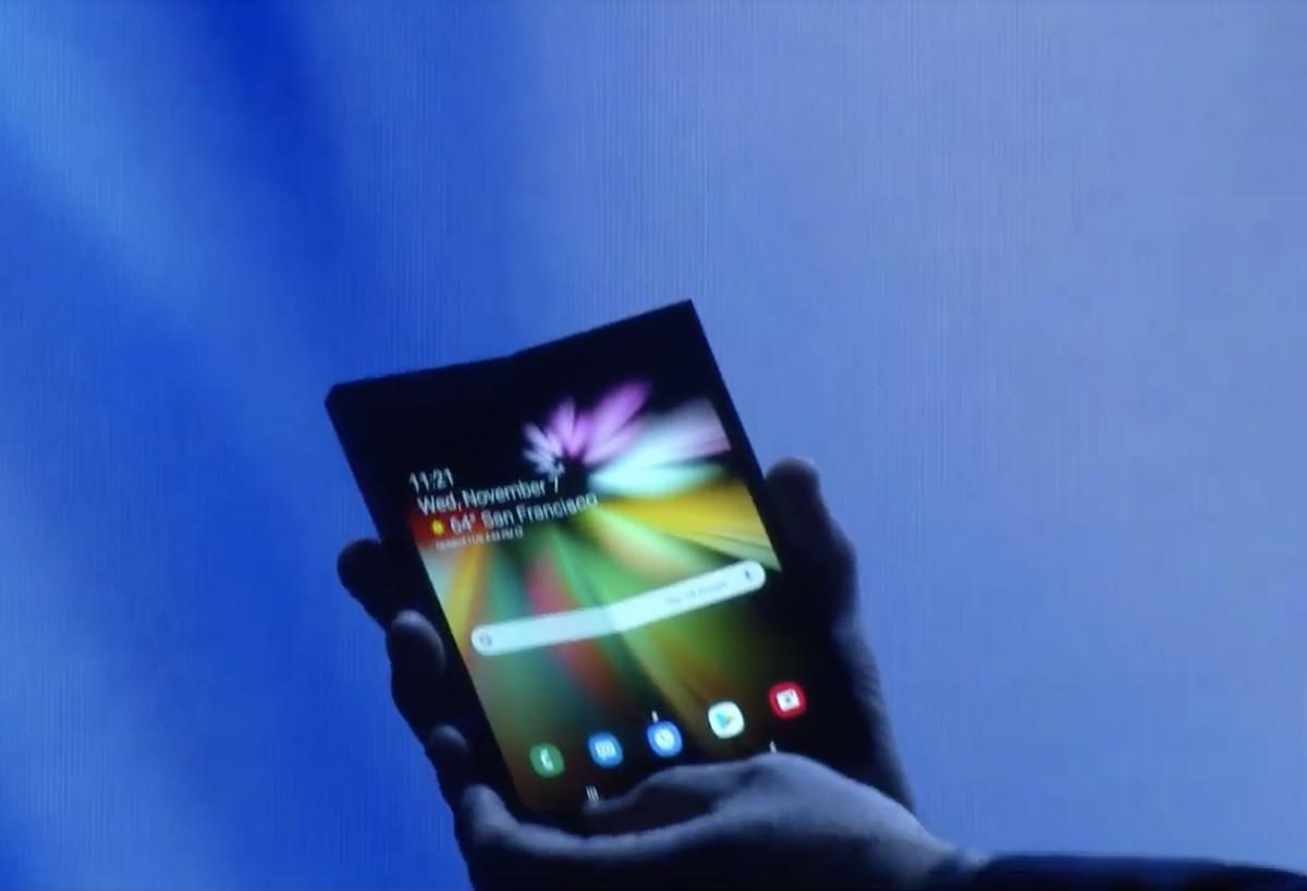 هذا هو هاتف سامسونج الذكي القابل للطي