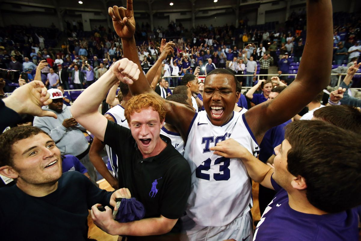 TCU found out what it feels like to beat the #5 team in the country