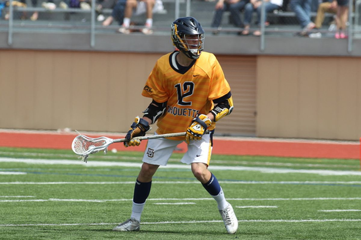 Conor Gately tied for the game high with four points, and set a new MU career points record along the way.