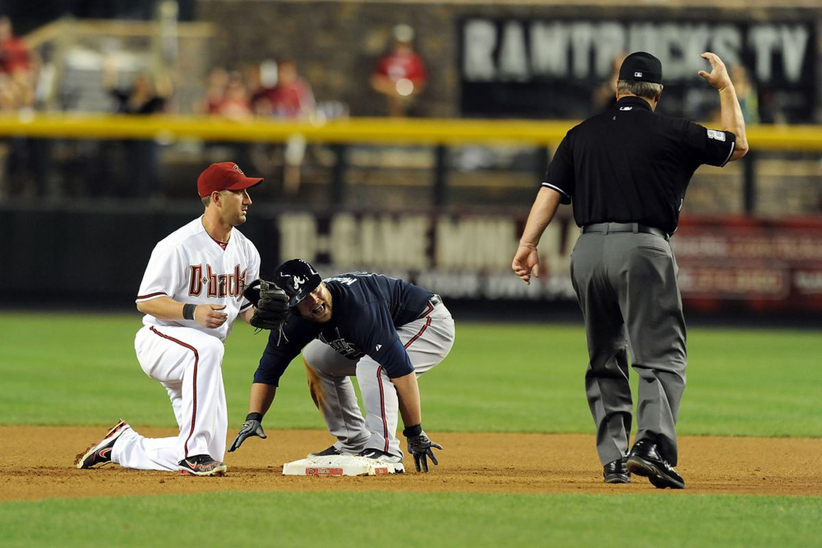 Willie Bloomquist- always choosing the wrong time to propose.