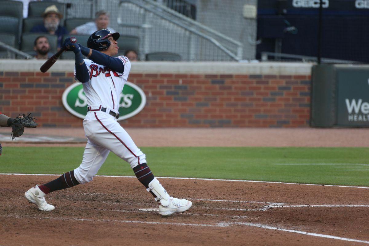 MLB: MAY 31 Nationals at Braves