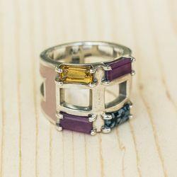 AEA kaleidoscope ring, $800