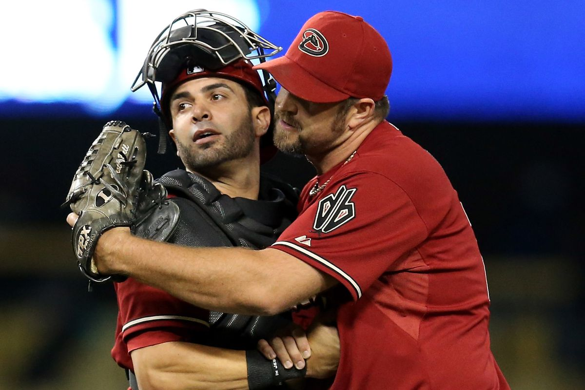 Wil Nieves, consigning Heath Bell to the Friend Zone...