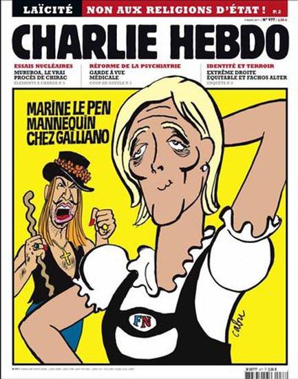 Charlie Hebdo Galliano