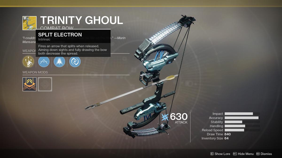 Trinity Ghoul Exotic Destiny 2
