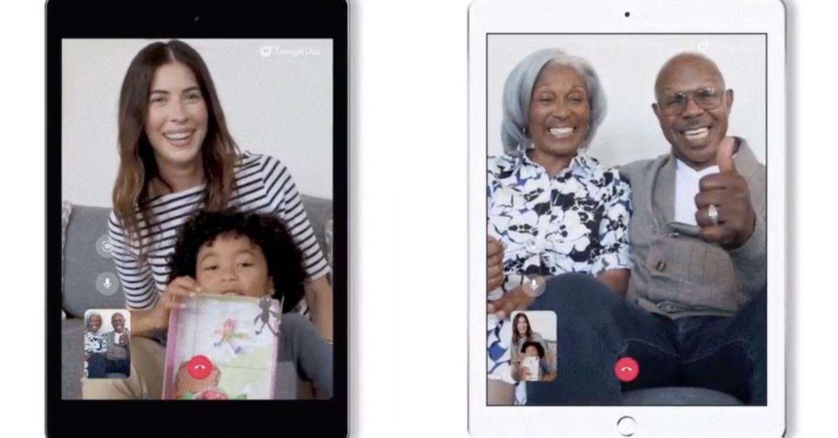 Google's Video Chat App Comes to iPads and Android Tablets