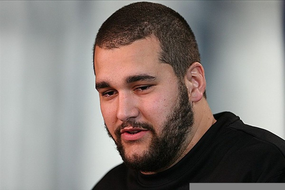 Feb 23, 2012; Indianapolis, IN, USA; USC Trojans offensive lineman Matt Kalil speaks at a press conference during the NFL Combine at Lucas Oil Stadium. Mandatory Credit: Brian Spurlock-US PRESSWIRE
