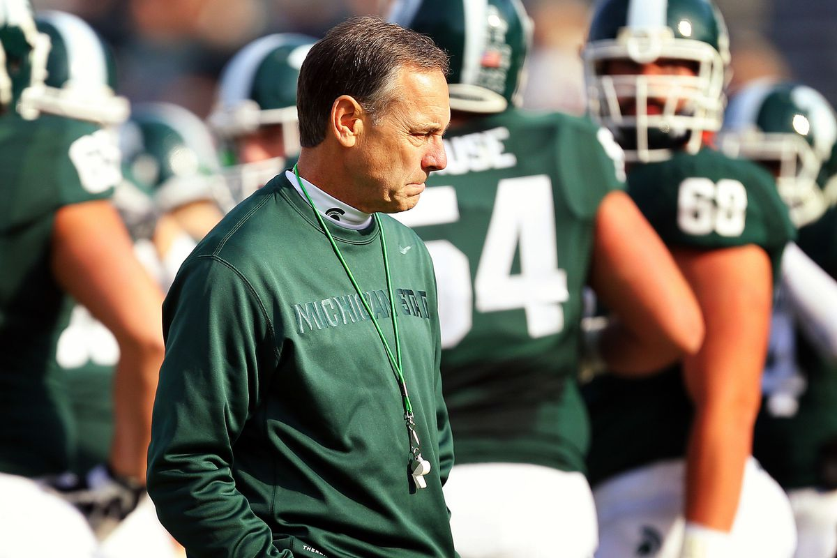 Mark Dantonio will try to lead his Spartans to a victory over TCU and avoid a losing season.