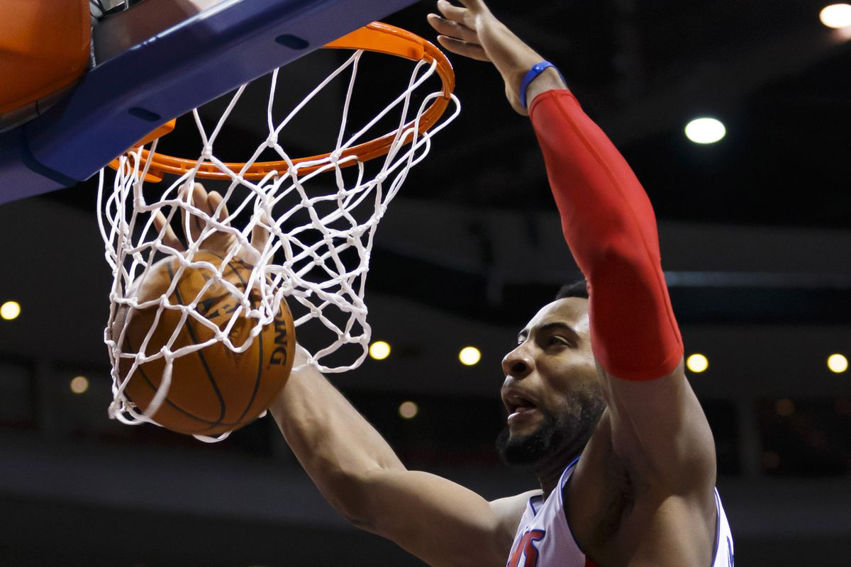 Where does the Andre Drummond beast experience fit into your draft strategy?